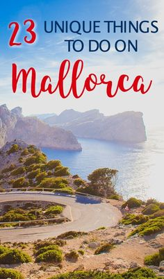 27 Unique Things to Do in Mallorca Away from the Resorts I'll be honest, I was quite skeptical about booking a holiday to Mallorca. In fact, the only reason I agreed to visit Mallorca was that Dan really wanted to a beach holiday but was only Cool Places To Visit, Places To Travel, Travel Destinations, Menorca, Voyage Hawaii, Mallorca Beaches, Spain Travel Guide, Reisen In Europa, Destin Beach