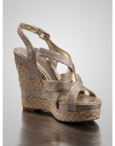 GUESS Jeanelle Wedge Sandals