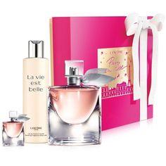 Lancome La vie est belle Inspirations Gift Set ($125) ❤ liked on Polyvore featuring beauty products, gift sets & kits, no color, lancôme and eau de perfume