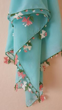 Embroidery Works, Needle Lace, Lace Making, Scarf Styles, Diy And Crafts, Projects To Try, Weaving, Butterfly, Textiles