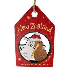 Christmas Decorations, Christmas Ornaments, Holiday Decor, Celebrating Christmas, Wooden Decor, Kiwi, New Zealand, Are You Happy, Sheep