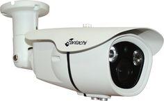 "Analog Bullet IR Cameras SAN61000BAX (Limited Stock):  Key Features: ■Image Sensor:1/3"" CMOS ■Resolution:1000 TVL ■Lens: 2.8-12mm Varifocal Lens ■IR Range: up to 30 meters ■IR LEDs Unit:2 High Power ArrayLEDs ■Weather ProofStandard: IP 66 ■Power: DC 12V ±10% Max. 2.5A"