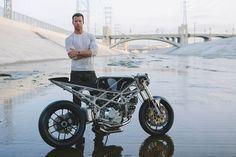 Ducati Cafe Racer Monster 900 by Hazan Motorworks