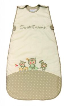 The Dream Bag Baby Sleeping Bag Sweet Dreams 0-6 Months 2.5 TOG - Beige