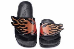 71fa48a7c4af Vogue Mens Adidas Jeremy Scott Wing Adilette Sandals Red Flames For
