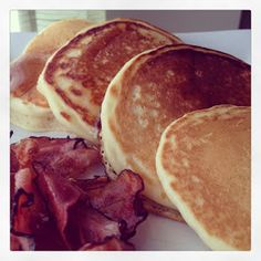 A Life Without Ice Cream: Classic Griddle Pancakes