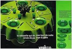 Publicité Vereco 1969 France, Glass, Table, Vintage, Box Sets, Wrapping, Tableware, Drinkware, Corning Glass