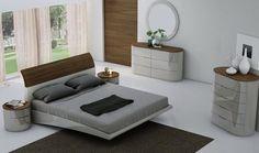 Modern Grey Bedroom Furniture Set