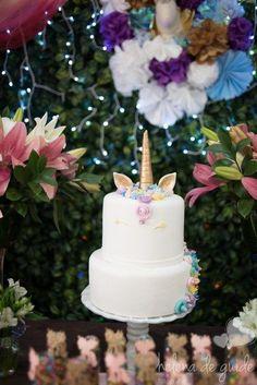 Girl Birthday Themes, Unicorn Birthday Parties, Unicorn Party, Cumple My Little Pony, Beautiful Cake Designs, Rainbow Parties, Festa Party, Its My Bday, Baby Shower