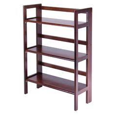 Winsome 3-Tier Folding and Stackable Shelf, B