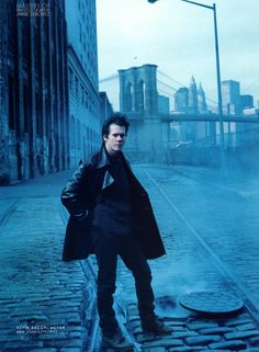 Kevin Bacon by Annie Liebowitz - 1997. One of my favorite pic of him. I think I still have it!
