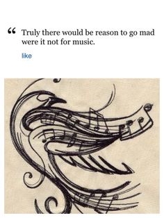 Tchaikovsky quote for a tattoo. Outline the bird maybe?