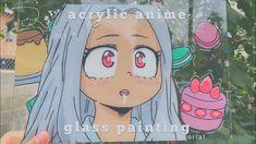 anime glass painting [+tutorial]