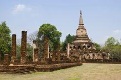 THAILAND - Sukhothai-Si-Satchanalai-Historical-Park- © 2003‐2012 Tourism Authority of Thailand