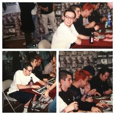 Old Linkin Park photos. This band was one of the main ones that saved my life when I was younger. So much love for these guys still.