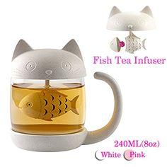 Tasse à thé en verre