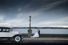 Wedding photography by BH13 Photography http://bh13photography.co.uk Car: Barnes Cars