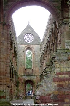 Melrose Abbey, Scotland. Our tips for 25 fun things to do in Scotland: http://www.europealacarte.co.uk/blog/2010/12/30/things-scotland/