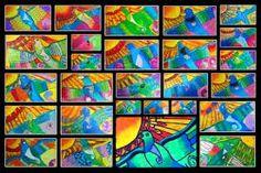Room 5 explored koru art and maori designs before reading the story of Rata and the Totara Tree. We discovered that just like the bir. Nz Art, Art For Art Sake, Art Activities For Kids, Art For Kids, Maori Legends, Maori Symbols, Maori Designs, New Zealand Art, Maori Art