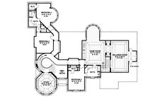 Southern House Plan Second Floor - 026D-1299 | House Plans and More
