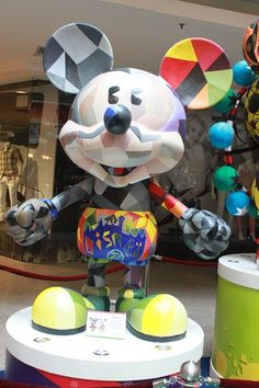 Mix Mickey by Saito College at the 'Mickey Mouse Through the yEars' exhibition at Mid Valley Megamall, KL