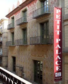 Facciata Hotel Petit Palace Boquería. Barcelona