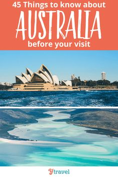 Before you visit Australia, here are 45 interesting facts about Australia to know! Dont leave home without reading this! #Australia #travel #traveltips