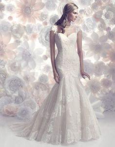 Casablanca Wedding Dresses 2015 Collection - MODwedding
