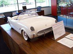 Harley Earl's 1953 Corvette Pedal Car... by Steve Brandon, via Flickr