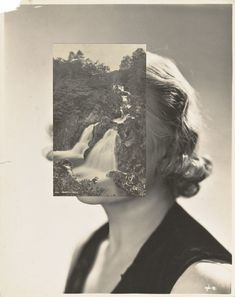 John Stezaker & the Not-So-Perfect Marriage - Gwarlingo Photography Collage, Surrealism Photography, Vintage Photography, Portrait Photography, Photography Ideas, Collage Portrait, Collage Art, Collage Ideas, Collages