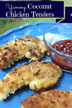 Yummy Coconut Chicken Tenders Recipe