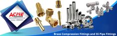ACME company offers an extensive range of Brass Compression Fittings that include Brass Hose Fittings, Brass Tube Fittings, Brass valves and cock fittings, S.S Pipe and Pipe Fittings. Brass Compression Fittings, Best Home Workout Equipment, Brass Fittings, Hyderabad, At Home Workouts, Tube, Industrial, Exercise, Good Things