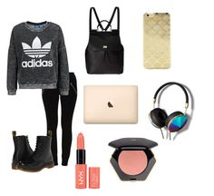 Lazy Day//Monday Ugh!! by hellofashion22 on Polyvore featuring polyvore, fashion, style, adidas Originals, VILA, Dr. Martens, Dolce&Gabbana, Abercrombie & Fitch, Sonix and H&M