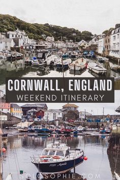 Visit Cornwall England/ How to Spend a Weekend in Cornwall Itinerary (by a local!)