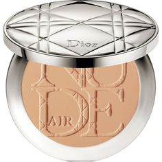 DIOR Diorskin nude air compact powder (5.545 ISK) ❤ liked on Polyvore featuring beauty products, makeup, face makeup, face powder, compact face powder and christian dior