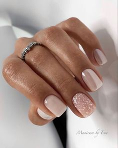 Classy Nails, Stylish Nails, Chic Nails, Cute Acrylic Nails, Acrylic Nail Designs, Nude Nails, My Nails, Short Gel Nails, Long Nails