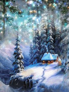 - 🎅🎄 DIA DE NATAL ( WERBLE multiplos pulsos sem recorte na imagem ) 🎄🎅 Christmas Scenery, Winter Scenery, Christmas Pictures, Christmas Art, Beautiful Christmas, Winter Christmas, Vintage Christmas, Christmas Cookies, Holiday