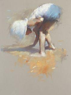 Dinie Boogaart / Recent werk pastel Human Painting, Figure Painting, Painting & Drawing, Watercolor Paintings, Classic Paintings, Impressionist Art, Pastel Drawing, Chalk Pastels, Ocean Art