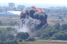Casualties After Plane Crashes Into A27 At Shoreham Airshow