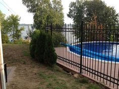 Custom Built Wrought Iron Steel Fences. Ornamental iron fencing solutions - Residential Fence and Commercial Fencing for sale - Babin Ironworks. Shop with Babin Ironworks and purchase your steel fence from the masters.