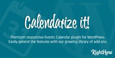 Calendarize it! for WordPress v3.2.9.56224: Present several stunning calendars to your WP website with Calendarize it! –an intuitive and robust WP plugin that offer amazing calendars for your website which further boost your website sales as well.
