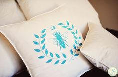 GroopDealz | Queen Bee Shabby Chic Pillow Case-I NEED these!!!!