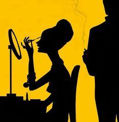 Labanda Digital Silhouette Illustration
