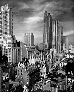 View of Midtown Manhattan, 1939. By Alfred Eisenstaedt.
