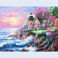 Guardian of the Sea - Dimensions counted cross stitch kit