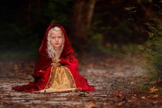 little red riding hood | Styled children session | Child photographer | Jacksonville, NC