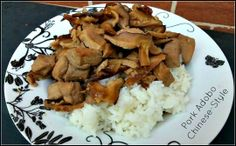 Bee's Baking - Pork Adobo, Chinese Style