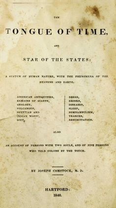The tongue of time, and star of the states: : a...