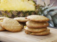 Pineapple Coconut Cookies...Mom use to make these!!!  :)