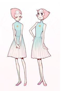 """alexiadraws: """" the only thing i love more than this dress is pearl herself """""""